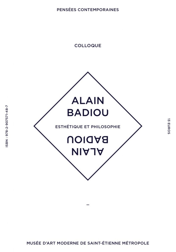 Couverture BADIOU page 5 edition