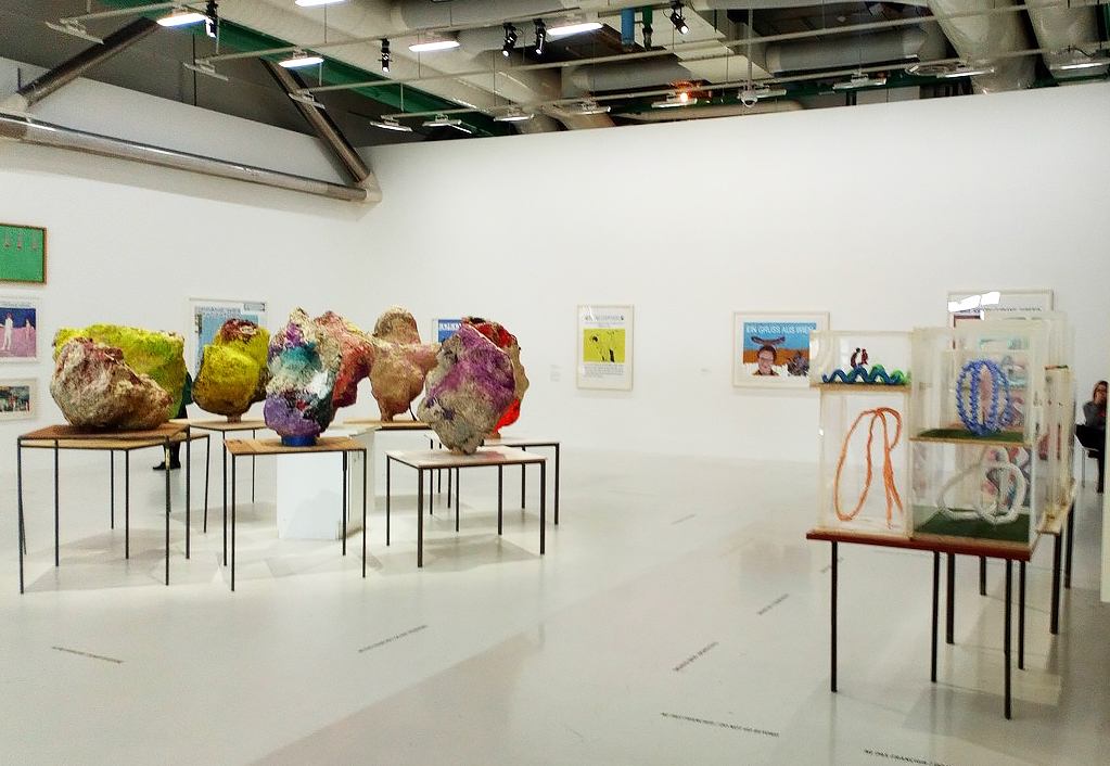 Franz West, Centre Pompidou, Paris, 2018.