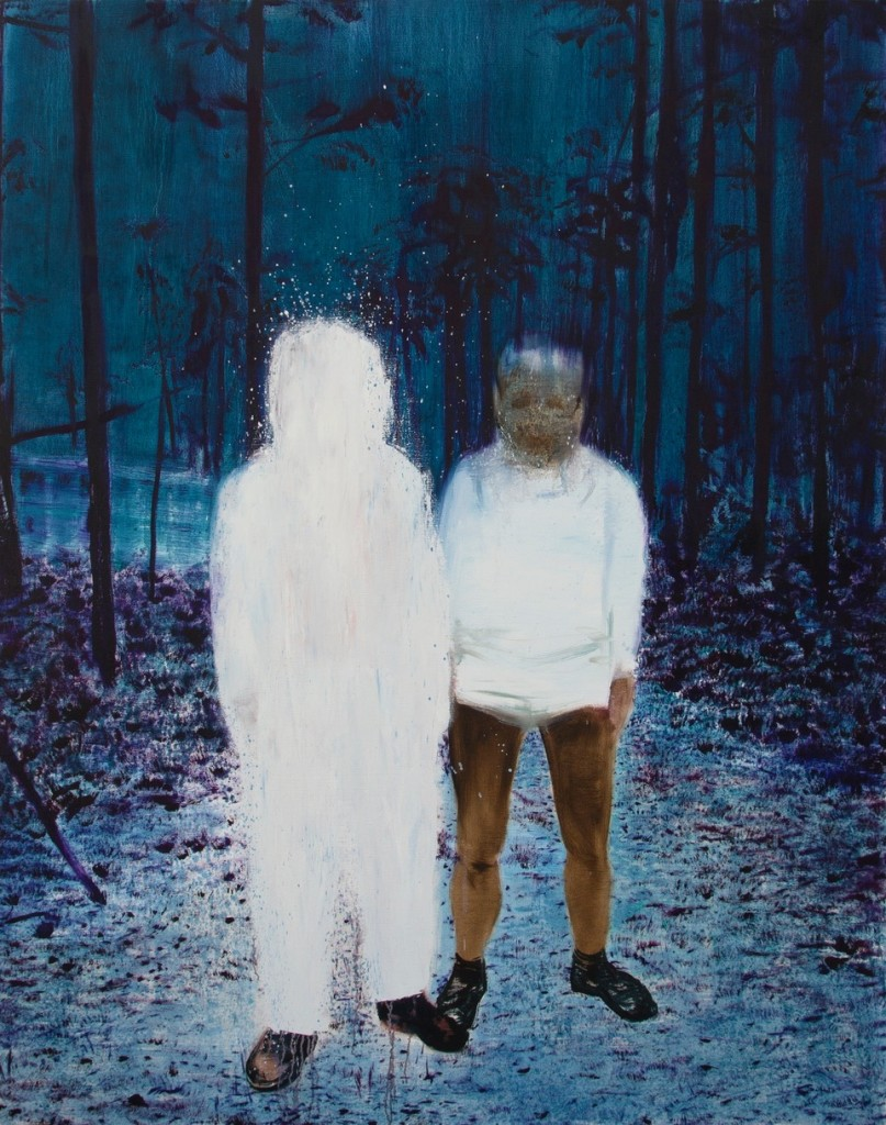Xie Lei, Me and I, 2015  Huile sur toile, 186x146cm  Collection de l'artiste – photo ©Courtesy de l'artiste